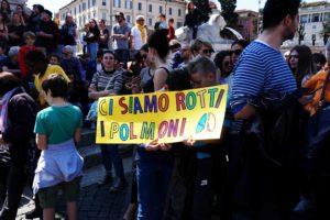 Fridays for Future, manifestanti- Giada Stallone