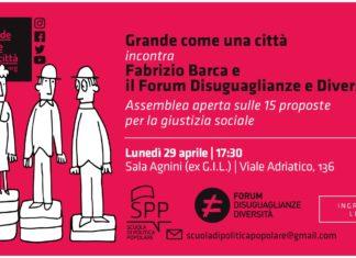 giustizia sociale locandina