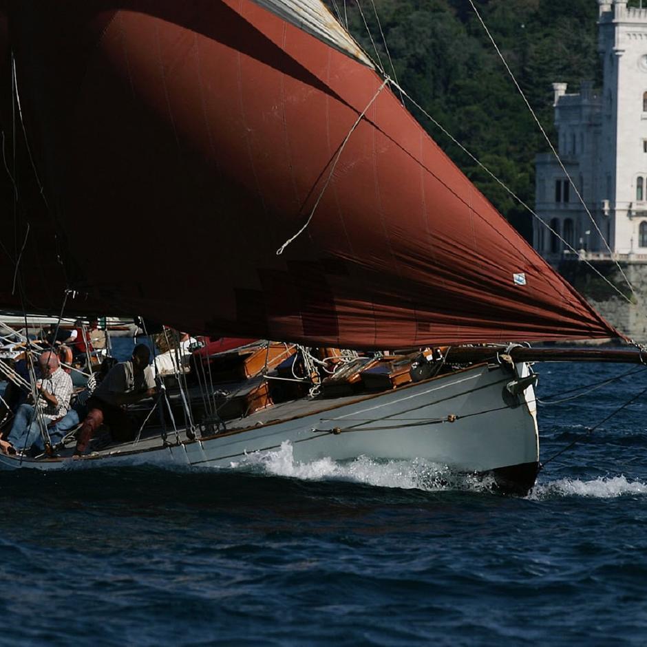Il Moya alla Barcolana Classic 2001