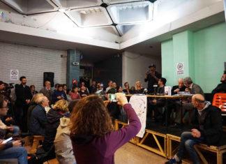 Palazzo occupato spin time, conferenza stampa 13 maggio - Foto di Giada Stallone