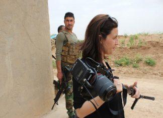 Francesca Mannocchi in Libia