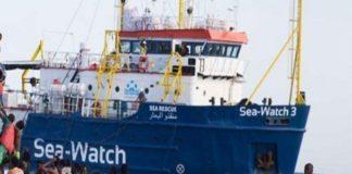 Salvataggio in mare della Sea Watch