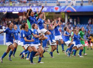 nazionale calcio femminile ai mondiali