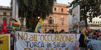 Manifestazione Rete Kurdistan-Italia, 11 ottobre 2019 Foto Gma