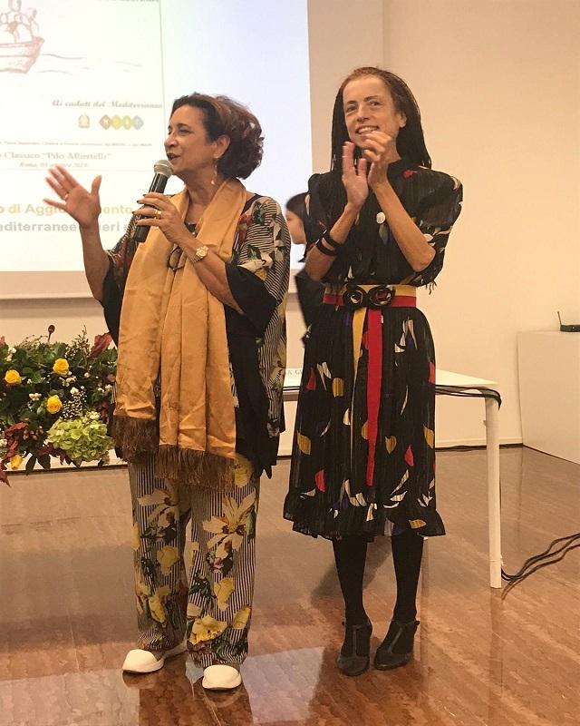La dirigente Antonietta Corea e la prof.ssa Michela Nocita