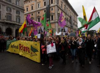 manifestazione nazionale a Roma del 1 novembre 2019