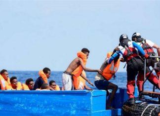 Migranti salvati nel Mediterraneo. Fonte Avvenire
