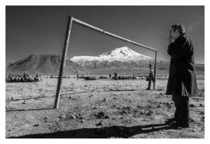 Murat Yazar Gli abitanti dei villaggi di fronte al Monte Arat, 2016( foto Art Tribune)