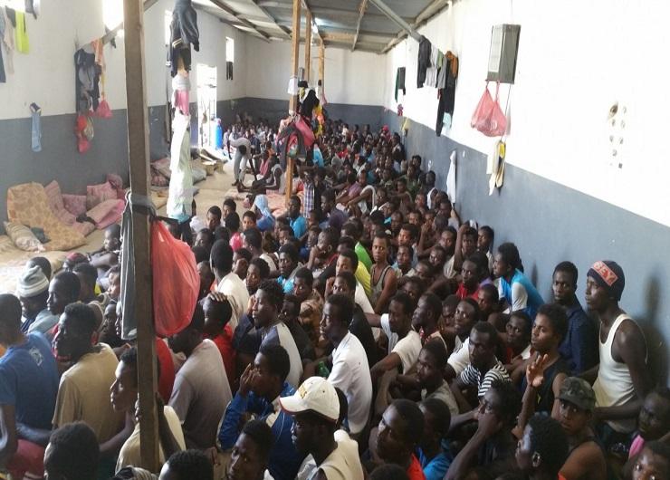 Migranti in Libia, l'inferno dei viventi. Fonte hpn