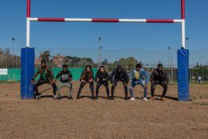"""i giovani fotografi sul campo per l'evento di Sport Senza Frontiere"""""""