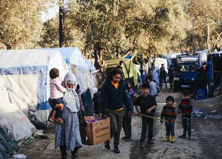 Profughi in Grecia, hotspot di Samos