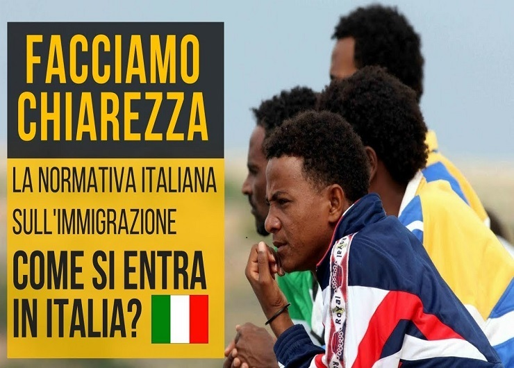 La normativa sull'immigrazione. Fonte internazionale.it