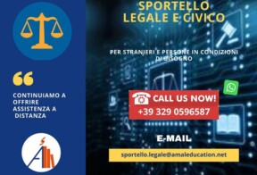 Sportello legale Amal for Education