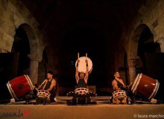 I Munedaiko in concerto, foto a cura di Laura Marchiori