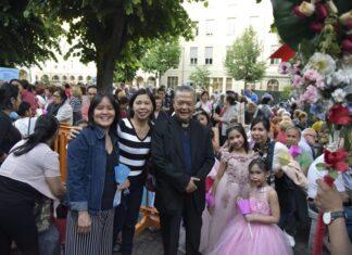 Immigrazione - Famiglie immigrate in festa. Fonte donboscosansalvario.it