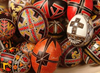 uova dipinte ortodossia romena